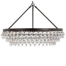 bennett 30 round chandelier bronze