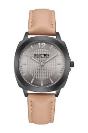 image of kenneth cole reaction women s leather strap watch