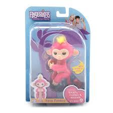 WowWee Fingerlings Bella Pink Baby Monkey Interactive Toy : EBTH