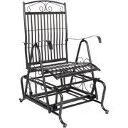 iron patio furniture. Best Choice Products Patio Iron Rocker Glider Porch Chair Iron Patio Furniture