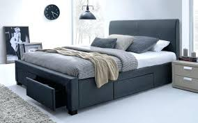 Bed Frame ~ King Size Bed Frame With Drawers Plans King Bed Frame ...