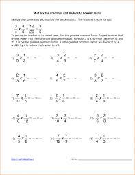 Multiplying Fractions Worksheets | Homeschooldressage.com