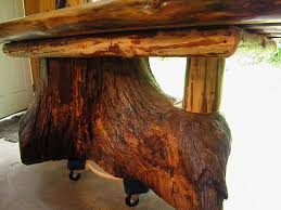 furniture made from tree trunks. Custom Real Oak Tree Trunk Kitchen Dining Table - One Of Our Current Projects By Old Farm Amish Furniture Handmade Rustic Log | CustomMade.com Made From Trunks 6