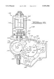 patent us electric motor control system for automobile patent drawing