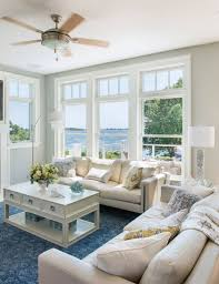 Rhode Island Beach Cottage Living Room | Home Is Where Comfort ...