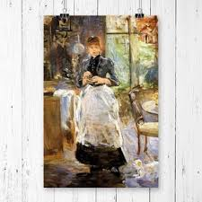 painting for dining room.  Room U0027In The Dining Roomu0027 By Berthe Morisot Painting Print On For Room I
