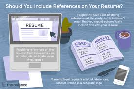 How To Provide References With A Job Application