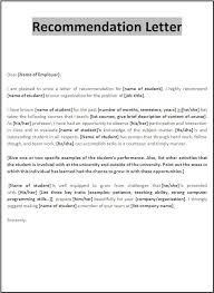 Sample Letter Of Recommendation Employee Letter Of Recommendation Sample Innazo Us Innazo Us