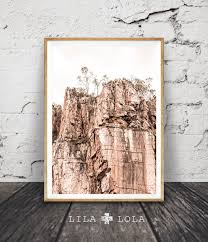 blush pink print mountains wall art printable photography digital download contemporary modern decor outback australia desert pastel by lilaxlola on  on pastel wall art au with rocky cliff wall art print outback australian desert photography