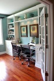 office for a couple that works together office home interiordesign built home office desk builtinbetter