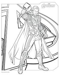 Avengers Printable Coloring Pages Free Printable Avengers Age Of