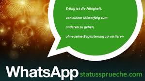 Whatsapp Status Sprueche Erfolg Whatsapp Status Sprüche