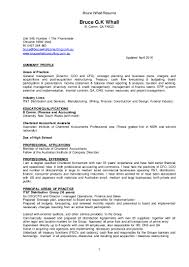 bruce g newformat resume bw version