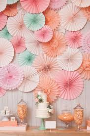 aliexpress com diy 10 25 cm decorative tissue paper fan