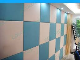 fabric covered acoustic wall panels plant fiber 3d wall