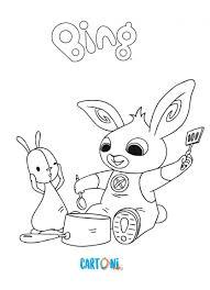 Coniglietto Bing Da Colorare Cartoni Animati