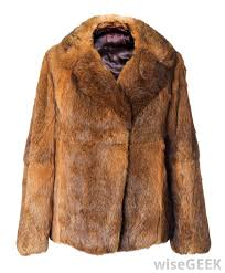 sometimes judging the quality of a fur coat is as easy as touching it