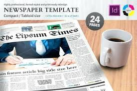 Newspaper Template Psd Free Newspaper Template For Photoshop Photoshop Newspaper