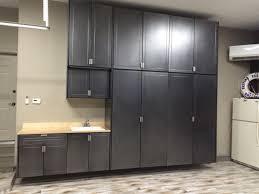 Floor To Ceiling Garage Cabinets In The Garage Storage Cabinets Garage And Closet Organization
