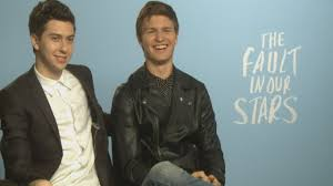 cute interview the fault in our stars ansel elgort and nat wolff cute interview the fault in our stars ansel elgort and nat wolff talk r ce and shailene woodley