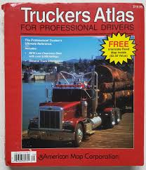 Interstate Mileage Chart Truckers Atlas For Professional Drivers