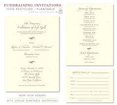 Fundraiser Invitation Templates Invitation Template
