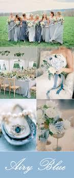 elegant airy blue wedding color ideas for fall