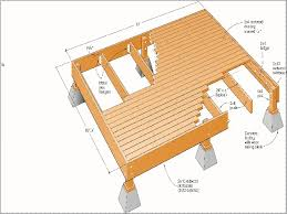 how to build a floating deck plans build floating