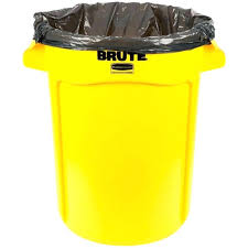 metal kitchen trash can yellow kitchen trash can medium size of brute gallon yellow trash can