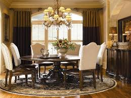 round formal dining room tables patterned brown polished wooden round toulon dining table rustic extending dining
