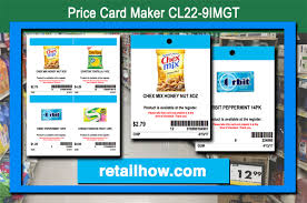Price Card Maker Cl22 9imgt Free Retailhow