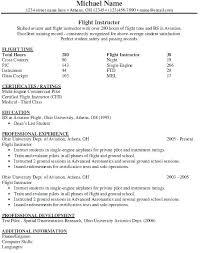 Pilot Resume Template Adorable Ohio University Resume Template Modest Design Pilot Resume Examples