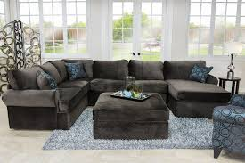 Sectionals In Living Rooms Napa Chocolate Right Facing Sectional Sectionals Living Room