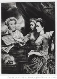 Mrs This and Miss Polly Lane / Sir Joshua Reynolds | Gallica