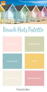 There's nothing prettier than beach huts painted in summery shades.  Recreate the look at home