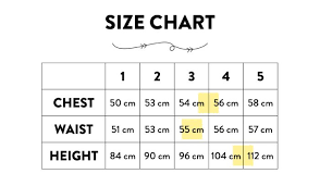How To Use A Size Chart Inkling Shop