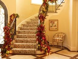 incredible tree ribbon decorating ideas for staircase traditional design ideas with incredible chair