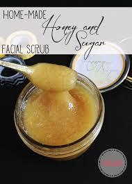 diy face scrub with brown sugar honey and sugar scrub perfect t idea make your