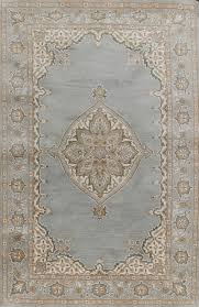 rugsville mia persian blue beige wool rug 11728 admin for oriental design 9