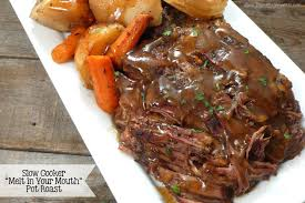 slow cooker melt in your mouth pot roast