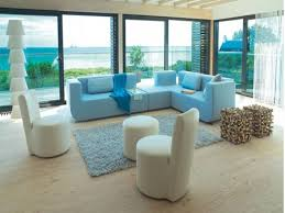 beach living room furniture. Cool Beach Living Room Ideas With L Shaped Sofa And Sliding Glass Doors Themed Furniture