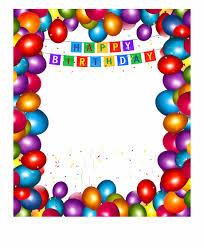 Free Birthday Backgrounds Frame Happy Birthday Png Happy Birthday Background Png