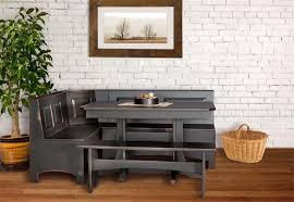 breakfast furniture sets. table amish corner breakfast nook set furniture sets n