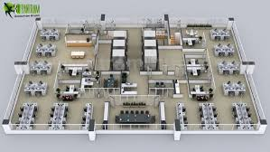 floor plan of the office. Creative 3D Floor Plans Of The Sets For Office By Plan Design Companies Chicago 8