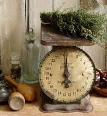 Small Picture Antique kitchen scales are both practical and look really cool in