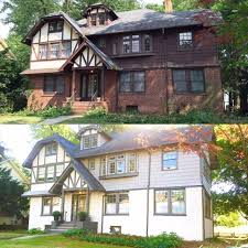Home Exteriors Before And After Style Cool Decorating