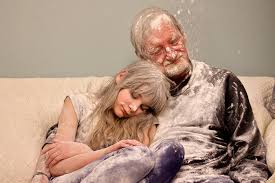 my father the introvert a photo essay girl and grandfather covered in flour my father the introvert