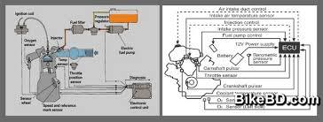 engine control unit motorcycle ecu or ecm bikebd motorcycle engine control unit ecu diagram