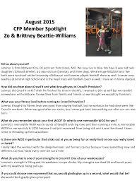members spotlight crossfit provision members spotlight