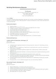 Maintenance Worker Resume Sample Professional Resume Inspiration Resume For Maintenance Worker
